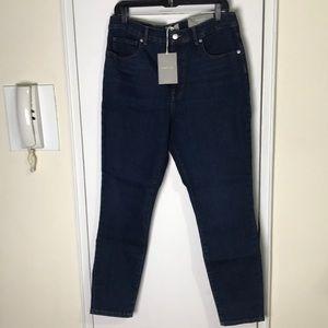 """NWT Everlane 32"""" High Rise Skinny Jeans"""